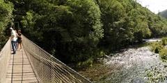 Ponte Colgante Río Eume (Pontedeume)