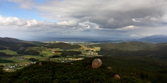 Ría de Foz desde Pico da Frouseira