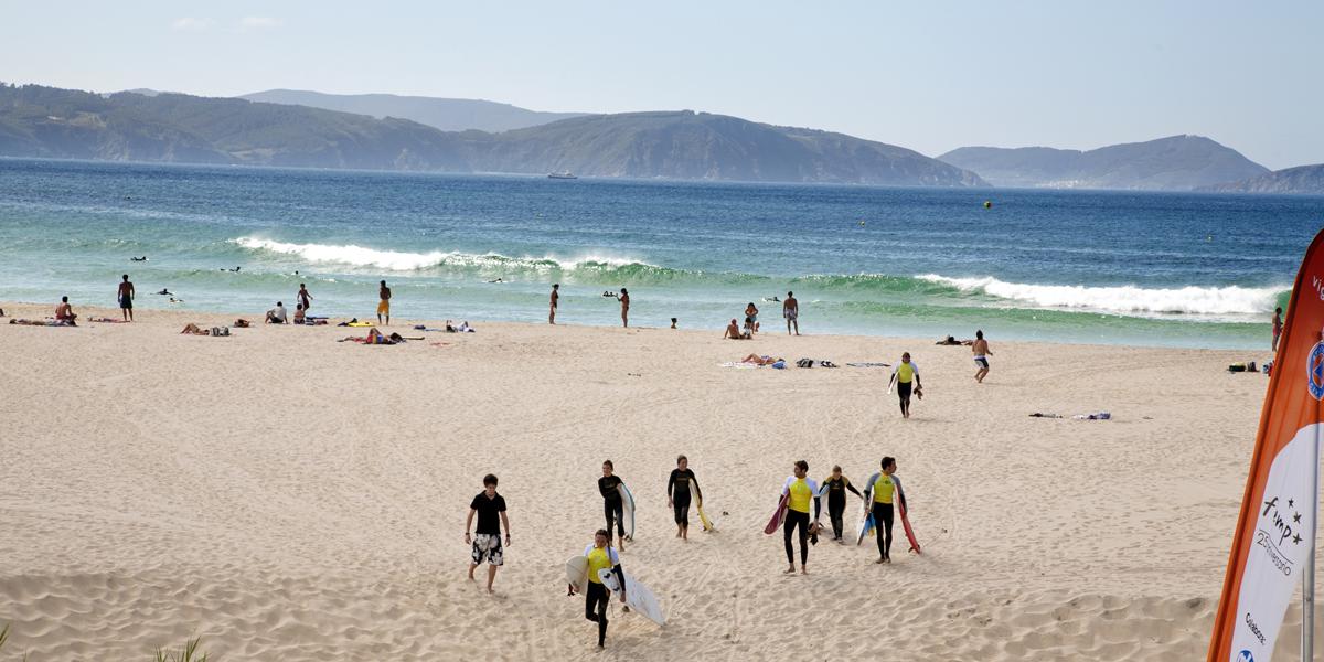 Surf Praia de Esteiro (Xove)