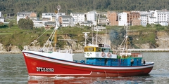 Barco Museo Boniteiro Reina del Carmen, exterior (Burela)